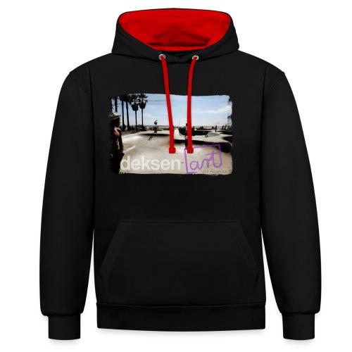 Los Angeles Part 2 - Contrast hoodie