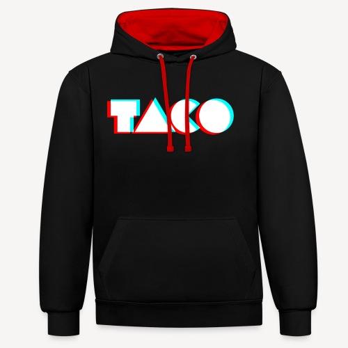 Taco Logo NoBG png - Contrast hoodie