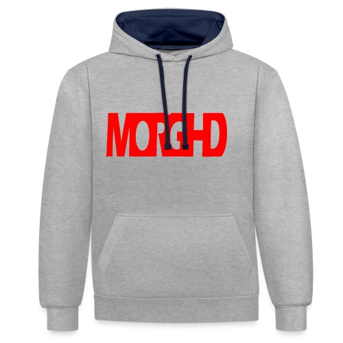 MorgHD - Contrast Colour Hoodie