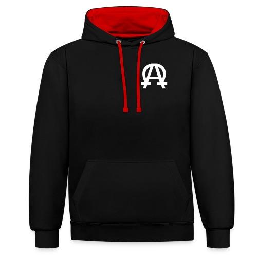 alpha-oméga - Sweat-shirt contraste