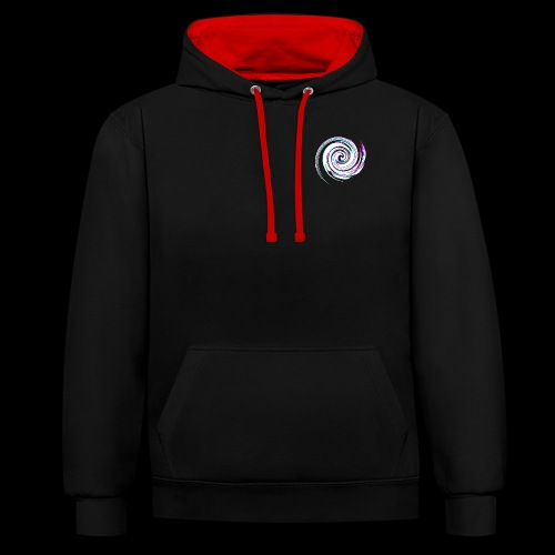 KING WHIRL - Contrast Colour Hoodie