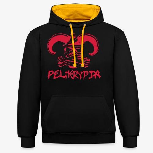 Pelikrypta - Contrast Colour Hoodie