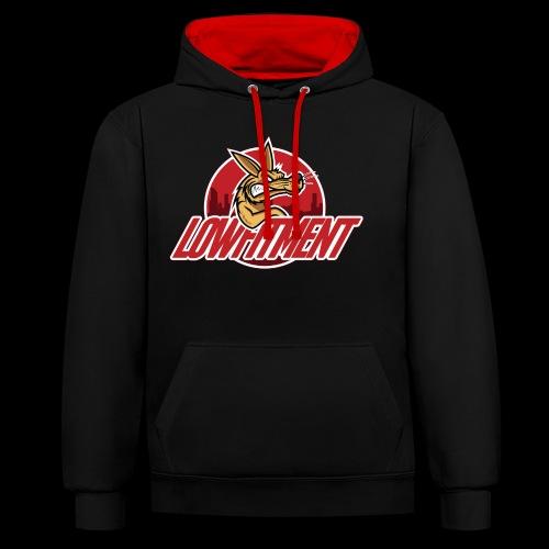 LF MASCOTTECOLOURLFroffaS - Contrast hoodie