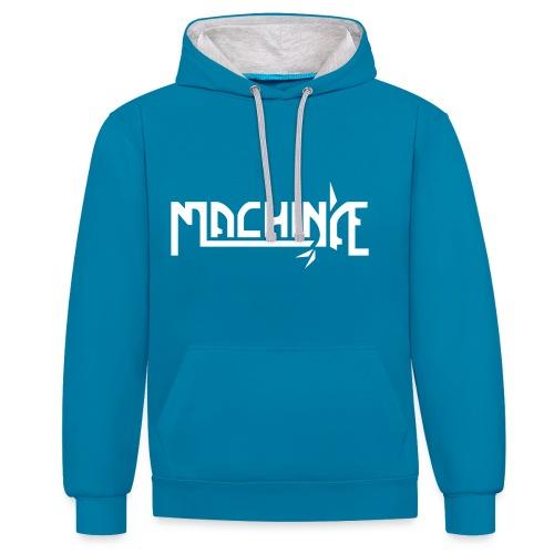 machinae medfransar - Contrast Colour Hoodie