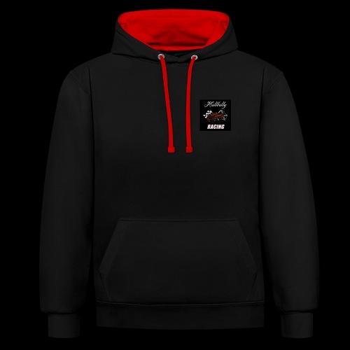 Hillbilly racing merchandise - Contrast hoodie