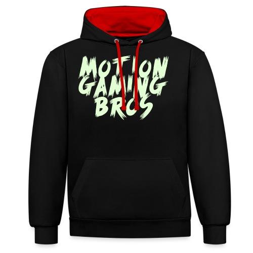 MotionGamingBros Vektor - Kontrast-Hoodie