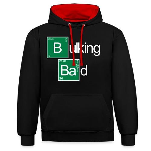Bulking Bad - Kontrast-Hoodie