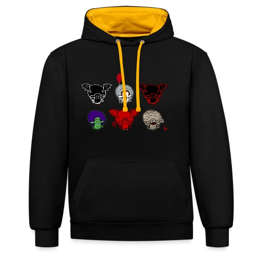Moutons Creepers - Sweat-shirt contraste