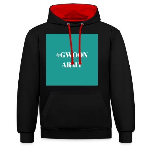 #GwoonArmy - Contrast hoodie