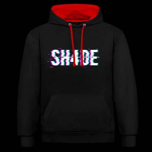 SH4DE. - Contrast Colour Hoodie