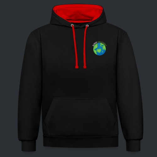 Slippy's Dream World Small - Contrast Colour Hoodie