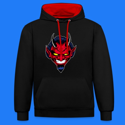 DEMON HEAD by Agill - Sweat-shirt contraste