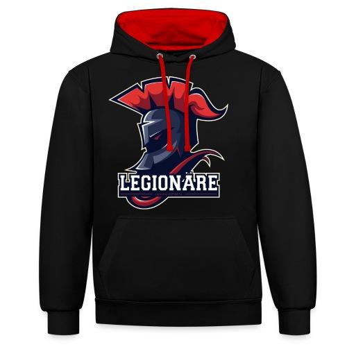 Legion Mainlogo - Kontrast-Hoodie