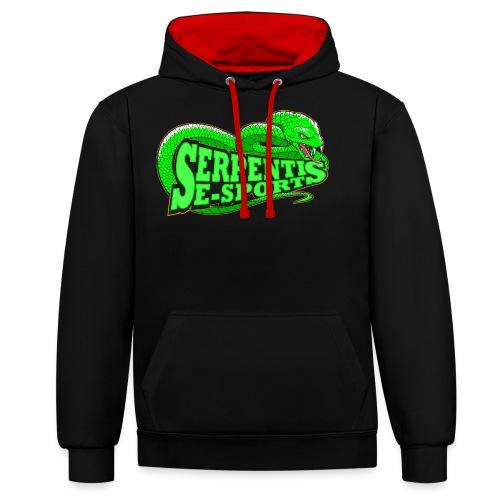Serpentis E-Sport - Kontrast-Hoodie