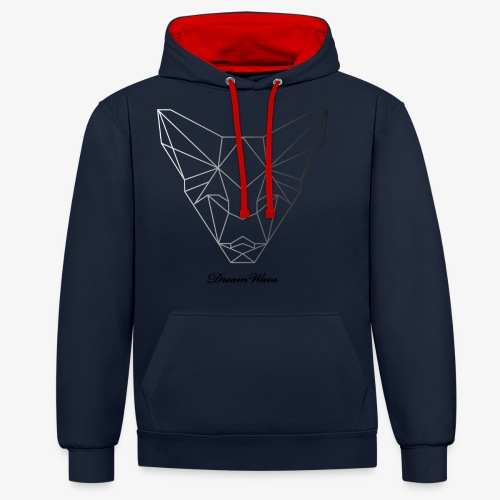 DreamWave Fox/Renard - Sweat-shirt contraste