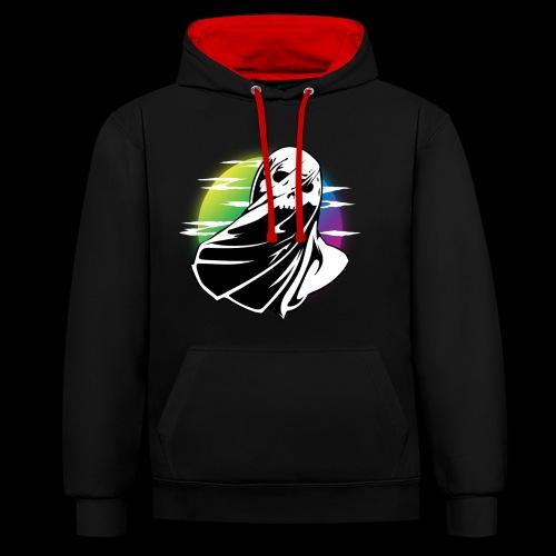 MRK24 - Contrast Colour Hoodie