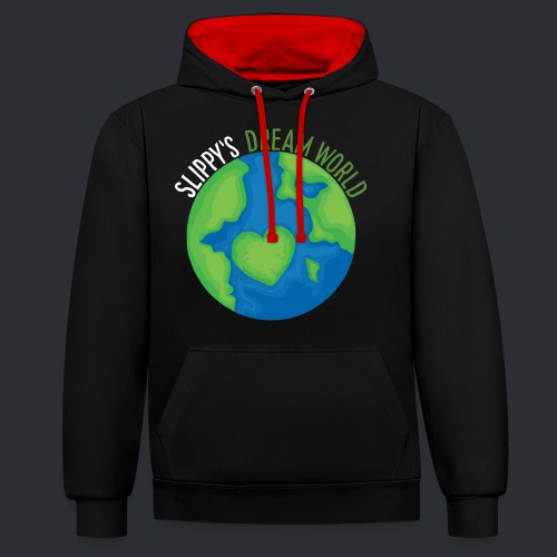 Slippy's Dream World - Contrast Colour Hoodie