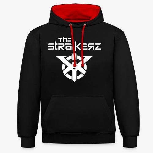 The Straikerz - Sudadera con capucha en contraste