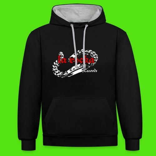 La Rocka black'n'red tsp - Contrast Colour Hoodie