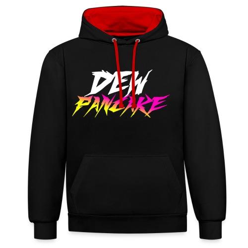 Official Dew Pancake - Contrast Colour Hoodie