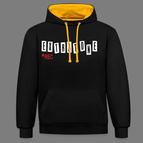 ERFINAL - Contrast hoodie