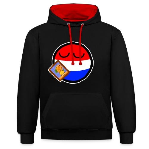 Netherlandsball - Contrast Colour Hoodie
