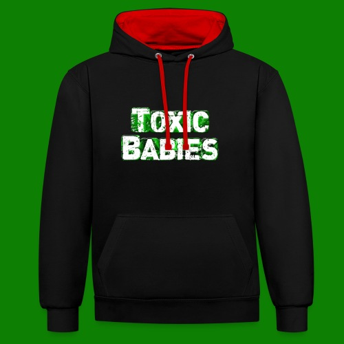 logo toxic grand - Sweat-shirt contraste