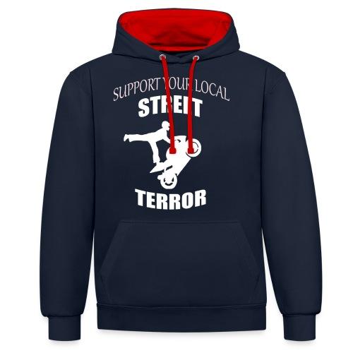 Streetterror Support - Kontrastihuppari