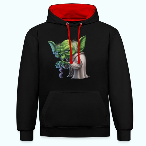 Little Gnome - Contrast Colour Hoodie