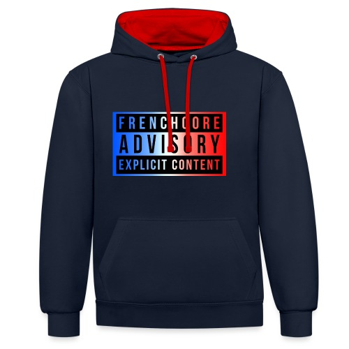 Frenchcore - Contrast Colour Hoodie