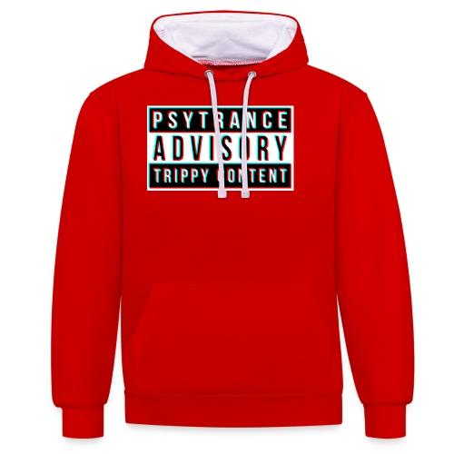 Psytrance - Contrast Colour Hoodie