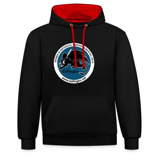 Esfinges logo - Contrast Colour Hoodie