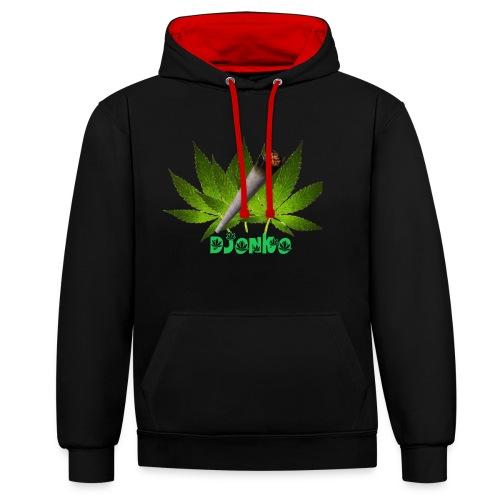Djonko - Contrast hoodie