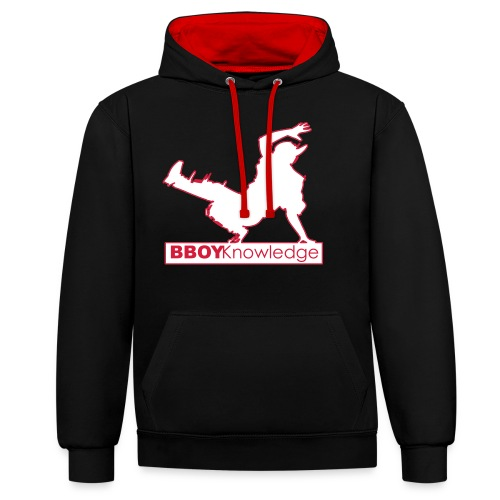Bboy knowledge Logo Multi color,make your choice - Sweat-shirt contraste