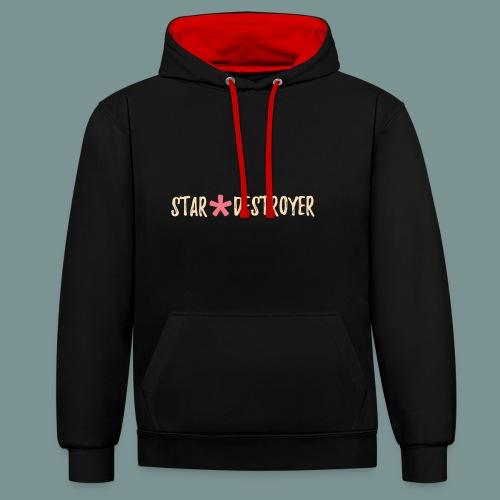 Star Destroyer - Contrast hoodie
