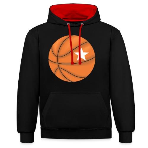 Basketball Star - Contrast hoodie