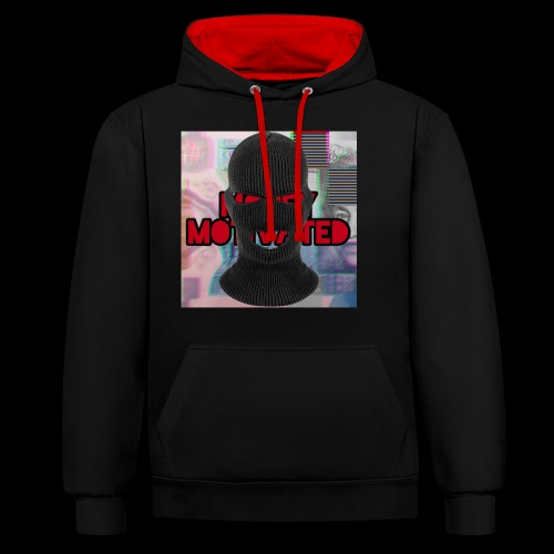MoneyMotivated - Contrast Colour Hoodie