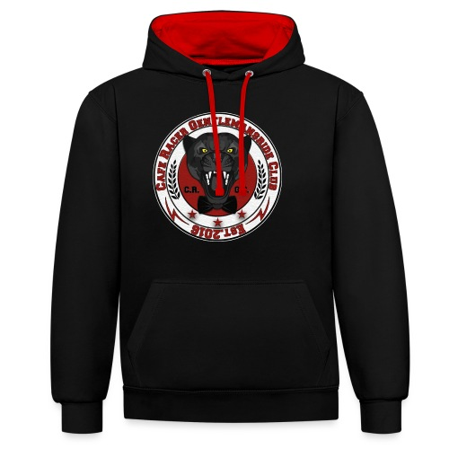 logopanthercrfcnew - Contrast Colour Hoodie