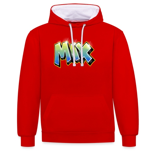 Graffiti Max - Sweat-shirt contraste