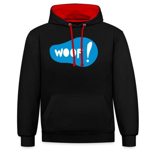 Woof! T-Shirt - Kontrast-Hoodie