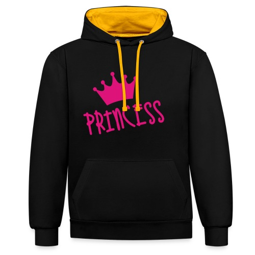 PRINCESS - Kontrast-Hoodie