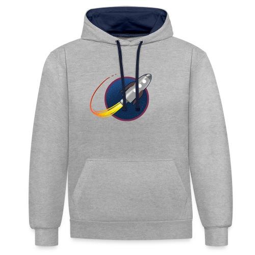 GP Rocket - Contrast Colour Hoodie