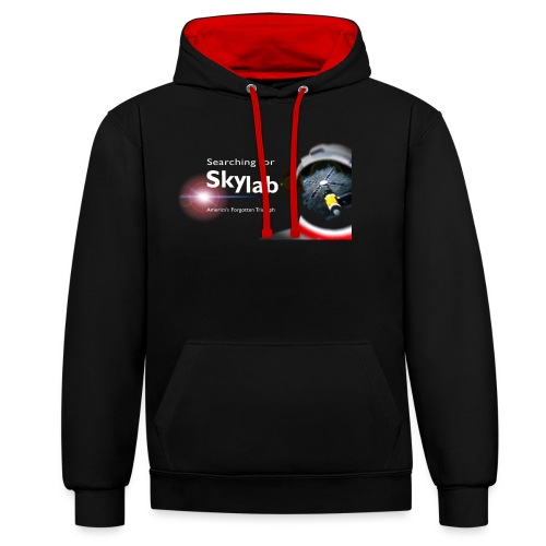 Searching for Skylab - Official Design - Contrast Colour Hoodie
