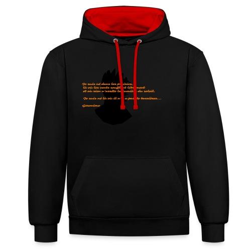 geronimo 2 - Sweat-shirt contraste