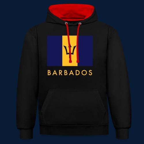 Barbados - Kontrast-Hoodie