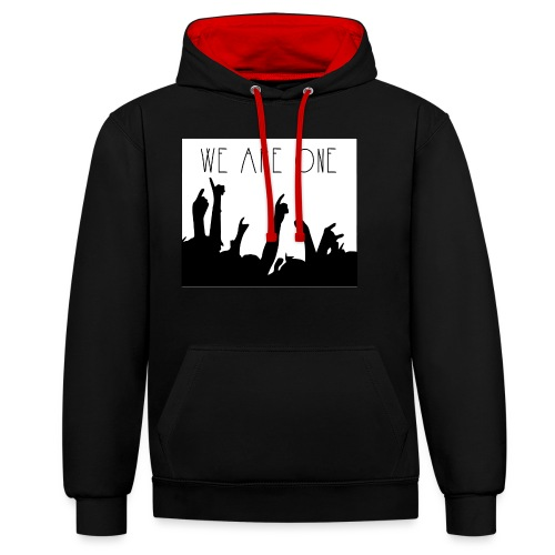 We Are One Hoody Women - Contrast hoodie