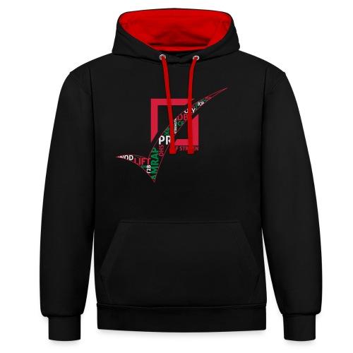 CFS-woorden - Contrast hoodie