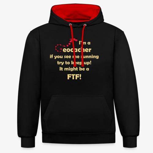 FTF-Jäger - Kontrast-Hoodie