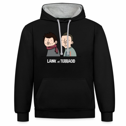 Laink et Terracid old - Sweat-shirt contraste