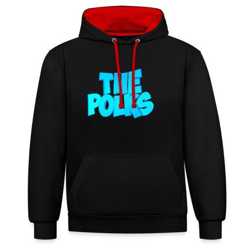 THEPolks - Sudadera con capucha en contraste